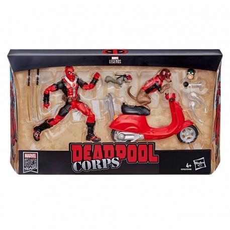 "Marvel Legends Ultimate Actionfigur Deadpool mit Scooter 6"" (15 cm)"