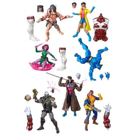 """Marvel Legends Series 04 'X-Men' Set komplett mit 7 Figuren 6"""" (15 cm)"""