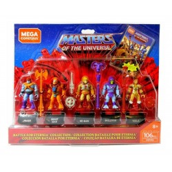 Masters of the Universe Mega Construx Probuilder Actionfiguren 5er-Pack Battle for Eternia