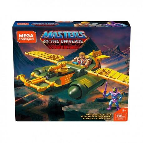 Masters of the Universe Mega Construx Probuilder Bauset Wind Raider Attack