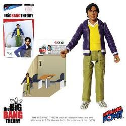 The Big Bang Theory Actionfigur mit Diorama Set Raj (10 cm)