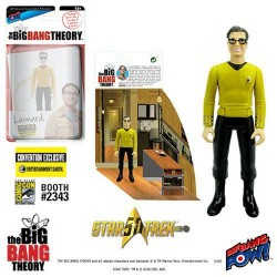 The Big Bang Theory Actionfigur mit Diorama Set Leonard TOS (10 cm) (Exclusive)