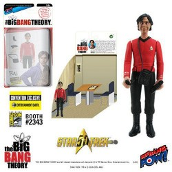 The Big Bang Theory Actionfigur mit Diorama Set Raj TOS (10 cm) (Exclusive)