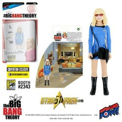 The Big Bang Theory Actionfigur mit Diorama Set Bernadette TOS (10 cm) (Exclusive)