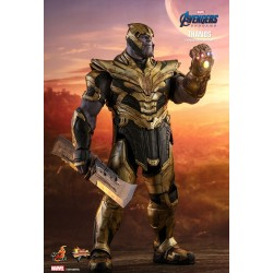 Marvel Hot Toys Avengers: Endgame Movie Masterpiece Actionfigur 1/6 Thanos (42 cm)