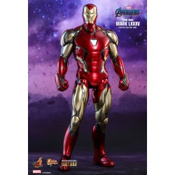 Marvel Hot Toys Avengers: Endgame Movie Masterpiece Diecast Actionfigur 1/6 Iron Man Mark LXXXV (32 cm)