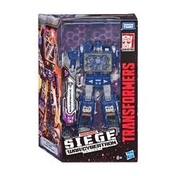 Transformers Generations War for Cybertron: Siege Wave 2 2019 Voyager Class Soundwave (18 cm)