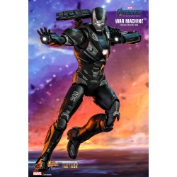 Marvel Hot Toys Avengers: Endgame Movie Masterpiece Diecast Actionfigur 1/6 War Machine (32 cm)