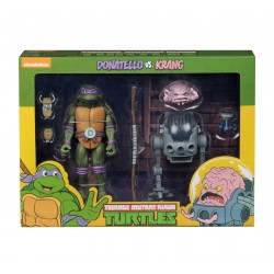 Teenage Mutant Ninja Turtles Actionfiguren Doppelpack Donatello vs Krang in Bubble Walker (18 cm)