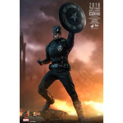 Marvel Hot Toys MMS Actionfigur 1/6 Captain America Concept Art (Toy Fair 2018 Exclusive) (31 cm)