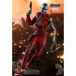 Marvel Hot Toys Avengers: Endgame Movie Masterpiece Actionfigur 1/6 Nebula (30 cm)