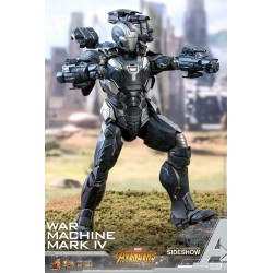 Marvel Hot Toys The Avengers Infinity War Movie Masterpiece Diecast Actionfigur 1/6 War Machine Mark IV (32 cm)