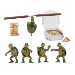 Teenage Mutant Ninja Turtles Actionfiguren 4er-Pack 1/4 Baby Turtles (10 cm)