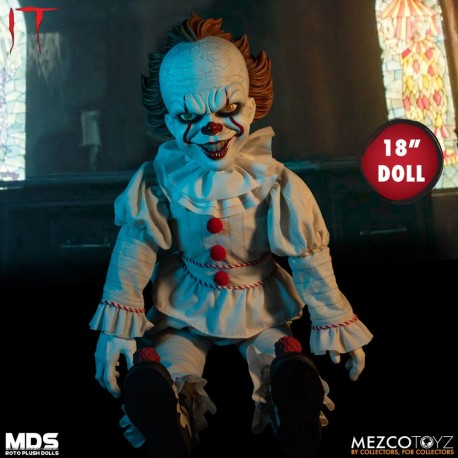 stephen kings es 2017 mds roto puppe pennywise 46 cm toystar gmbh. Black Bedroom Furniture Sets. Home Design Ideas