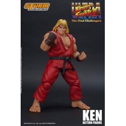 Ultra Street Fighter II: The Final Challengers Actionfigur 1/12 Ken (16 cm)