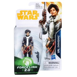 Star Wars Force Link 2.0 Wave 4 Actionfigur Val (Mimban) (Solo) (10 cm)