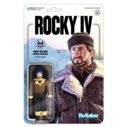 Rocky 4 ReAction Actionfigur Rocky (Winter Training) (10 cm)