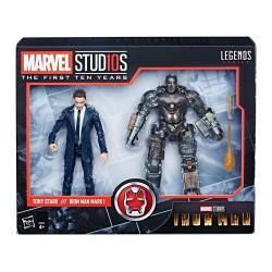 "Marvel Legends 'MCU 10th Anniversary""' Actionfiguren Doppelpack Tony Stark & Iron Man Mark I 6"" (15 cm)"