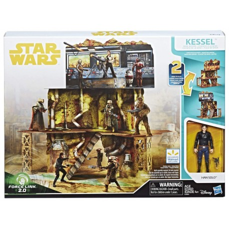 Star Wars Force Link 2.0 Kessel Mine Escape Playset (Exclusive)