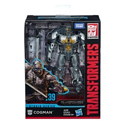Transformers Studio Series 2019 Wave 4 Deluxe Class Actionfigur Cogman (The Last Knight) (11 cm)