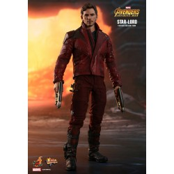 Marvel Hot Toys The Avengers Infinity War Movie Masterpiece Actionfigur 1/6 Star-Lord (31 cm)