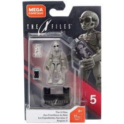X-Files Mega Construx Probuilder Actionfigur Grey Alien