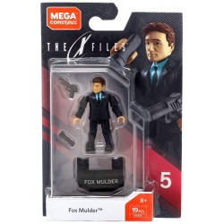 X-Files Mega Construx Probuilder Actionfigur Fox Mulder