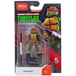 Turtles Mega Construx Actionfigur Donatello