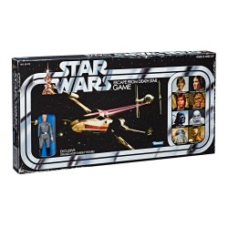 Star Wars Brettspiel Escape from Death Star mit Tarkin Actionfigur Retro Style *Deutsche Version*