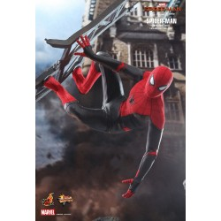 Marvel Spider-Man: Far From Home Movie Masterpiece Actionfigur 1/6 Spider-Man (Upgraded Suit) (29 cm)