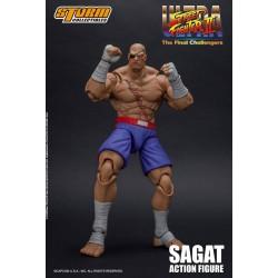 Ultra Street Fighter II: The Final Challengers Actionfigur 1/12 Sagat (19 cm)