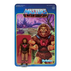 Masters of the Universe ReAction Actionfigur Wave 5 Grizzlor (10 cm)