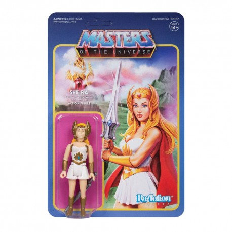 Masters of the Universe ReAction Actionfigur Wave 5 She-Ra (10 cm)