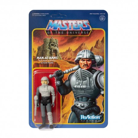 Masters of the Universe ReAction Actionfigur Man-At-Arms (Movie Accurate) (Exclusive) (10 cm)