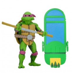Teenage Mutant Ninja Turtles: Turtles in Time Serie 1 Actionfigur Donatello (18 cm)