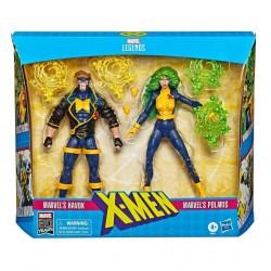 "Marvel Legends 90s Doppelpack 'X-Men' Havok & Polaris 6"" (15 cm) (Exclusive)"
