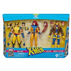"Marvel Legends 80th Anniversary 3-Pack 'X-Men' Jean Grey, Cyclops & Wolverine 6"" (15 cm)"