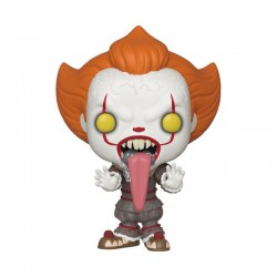 Stephen Kings ES 2 POP! Movies Vinyl Figur Pennywise (with Dog Tongue) (10 cm)