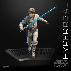 Star Wars Episode V Black Series Hyperreal Actionfigur Luke Skywalker (20 cm)