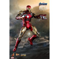 Marvel Hot Toys Avengers: Endgame MMS Diecast Actionfigur 1/6 Iron Man Mark LXXXV (Battle Damaged Ver.) (32 cm)