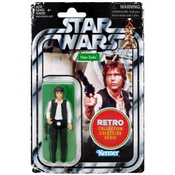 Star Wars The Retro Collection Wave 1 Actionfigur Han Solo (10 cm)