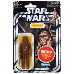 Star Wars The Retro Collection Wave 1 Actionfigur Chewbacca (10 cm)