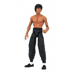 Bruce Lee Select Actionfigur Bruce Lee Shirtless (18 cm)