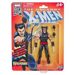 Marvel Legends Uncanny X-Men Retro Wave 1 Actionfigur Wolverine (15 cm)