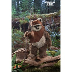 Star Wars Episode VI Movie Masterpiece Actionfigur 1/6 Wicket (15 cm)