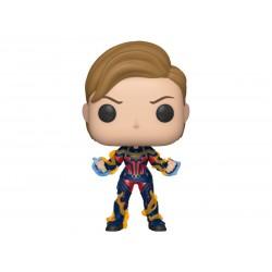 Marvel Avengers Endgame POP! Movies Vinyl Figur Captain Marvel with New Hair (10 cm)