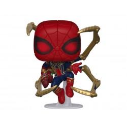 Marvel Avengers Endgame POP! Movies Vinyl Figur Iron Spider with Nano Gauntlet (10 cm)