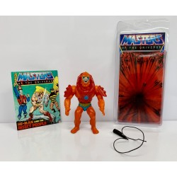 Masters of the Universe Original Mattel Vintage Actionfigur Beast Man (komplett) inkl. Mini Comic & Schutzhülle