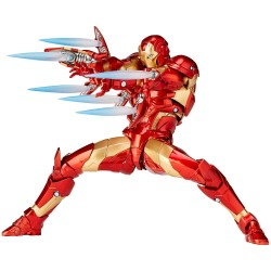 "Marvel Amazing Yamaguchi Iron Man Bleeding Edge Armor 6"" (17 cm)"
