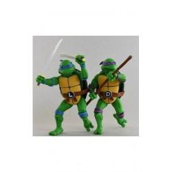 Teenage Mutant Ninja Turtles Actionfiguren Doppelpack Leonardo & Donatello (18 cm)